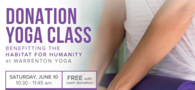 Donation Yoga