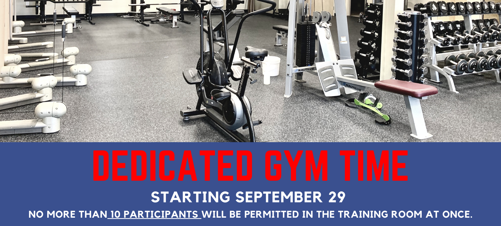 Dedicated Gym Time Old Town Athletic Campus